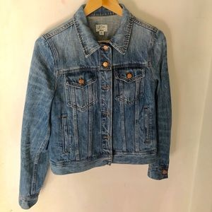 J. Crew Denim Jacket in Tyler Wash - Size Medium